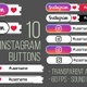 Instagram Buttons 4K - VideoHive Item for Sale