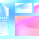 Soft Colorful Gradient Animated Shapes - VideoHive Item for Sale