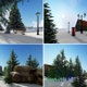 Winter Background Loopabel  - VideoHive Item for Sale