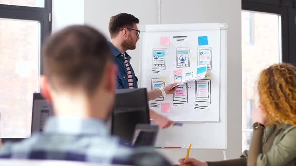 Creative Man at User Interface Presentation 12