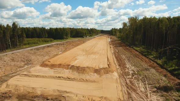 Construction of a New Road