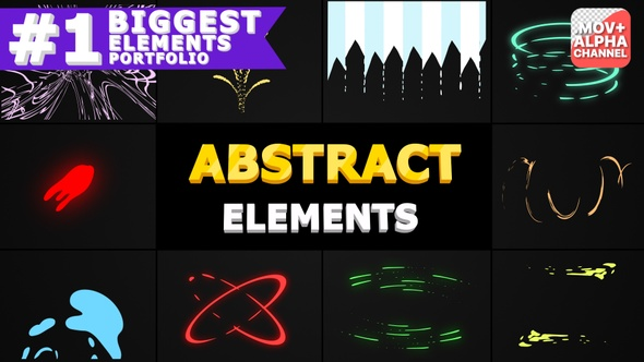 Abstract Shapes | Motion Graphics