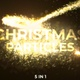 Gold Christmas Streaks - VideoHive Item for Sale