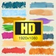 Paint Brush Strokes Lower Thirds - HD pack - VideoHive Item for Sale