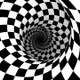 Checkerboard Spiral Loop - VideoHive Item for Sale