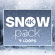 4k Snow Pack - VideoHive Item for Sale