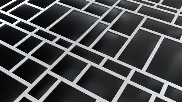 Abstract Rectangular Shapes and Lines
