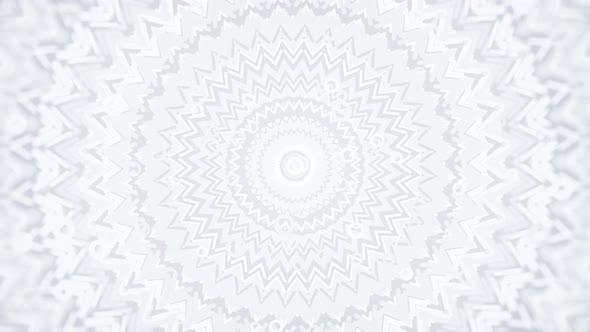 White Soft Round Ornament