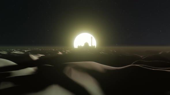 Desert Dune Nighttime In The Ramadan 01 HD