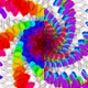 Hypno Spiral Squeezed Colorful Hexas - VideoHive Item for Sale