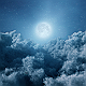 Flying Through Night Clouds - VideoHive Item for Sale