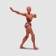 Bot Woman with Dancing Samba - VideoHive Item for Sale