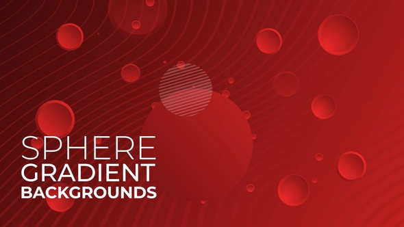 Gradient Backgrounds With Spheres