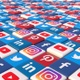 Social Media Blocks Background - Version 6 - VideoHive Item for Sale