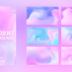 Flowing Liquid Gradient Backgrounds - VideoHive Item for Sale