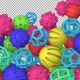 Rubber Toy Balls Transition Version 3 - VideoHive Item for Sale