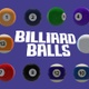 Billiard Balls Pack - VideoHive Item for Sale