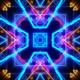 Vj Tri Neon Lights Tunnel - VideoHive Item for Sale