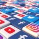 Social Media Blocks Background - VideoHive Item for Sale