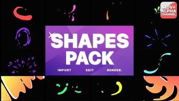 Liquid Shapes Pack   Motion Graphics