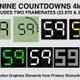 Nine Countdowns 4k - VideoHive Item for Sale