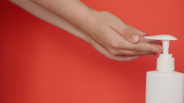 Hand washing for children's health.