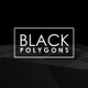 Black 3D Polygons - VideoHive Item for Sale