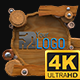 Wooden Lowerthirds 4K (Mograph) - VideoHive Item for Sale