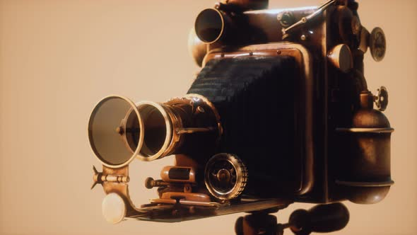 Antique Old Retro Photo Camera