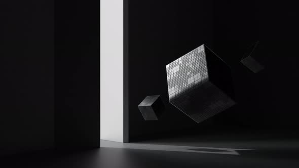 Cube and the light