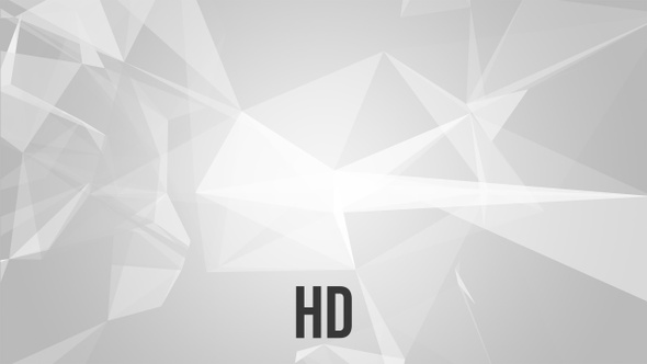 Corporate Light Polygonal Backgrounds - 4 Pack - HD