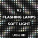 Vj Flashing Lamps | Soft Light - VideoHive Item for Sale