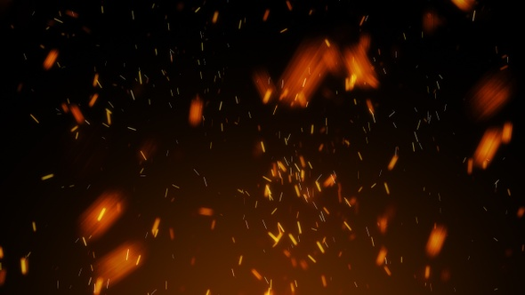Fire Background Motion Graphics from VideoHive