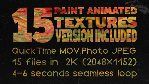 Paint Animated Textures